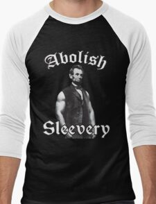 Abolish Sleevery Men's Baseball ¾ T-Shirt