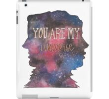 You Are My Universe iPad Case/Skin