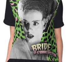 Bride Of Frankenstein Chiffon Top
