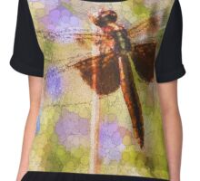 Bubbles The Dragonfly Chiffon Top