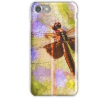 Bubbles The Dragonfly iPhone Case/Skin