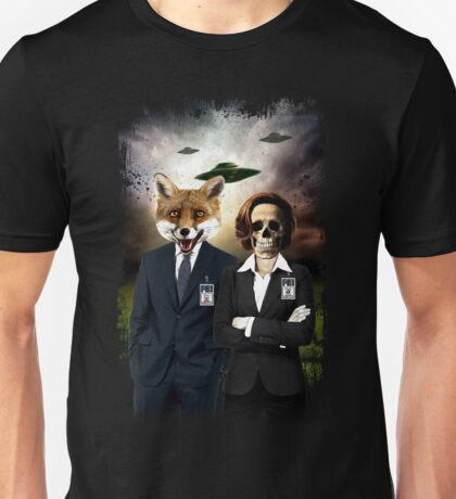 Fox and Skully Unisex T-Shirt