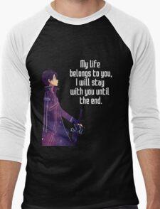 Kirito Couple Quote Men's Baseball ¾ T-Shirt