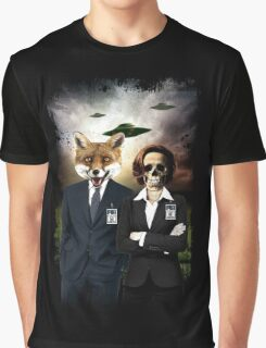 Fox and Skully Graphic T-Shirt