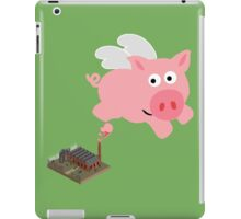 Pig out of slaughterhouse iPad Case/Skin