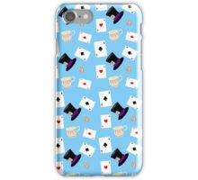 Alice in Wonderland Pattern iPhone Case/Skin