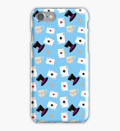 Alice in Wonderland Pattern iPhone Case/Skin