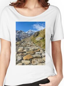 Snowdonia National Park Women's Relaxed Fit T-Shirt