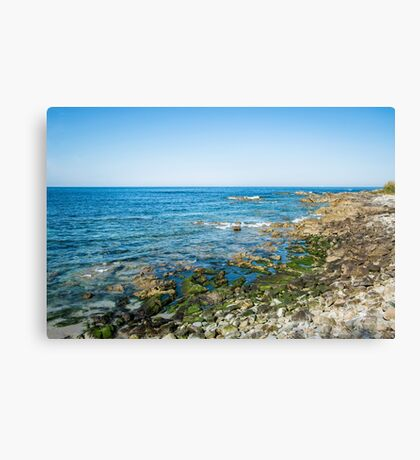 Tranquil beach Canvas Print