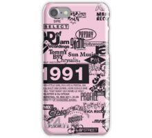 Hip Hop Labels iPhone Case/Skin
