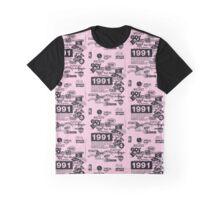Hip Hop Labels Graphic T-Shirt