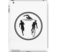 Womens Triathlon iPad Case/Skin