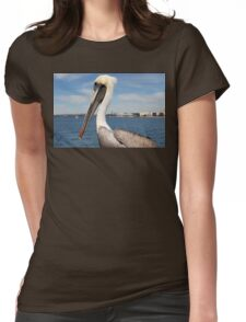 San Diego Pelican Womens Fitted T-Shirt
