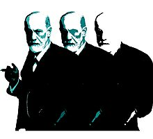 Faded Freud is Falling Apart Photographic Print