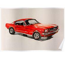 Mustang 66 Poster