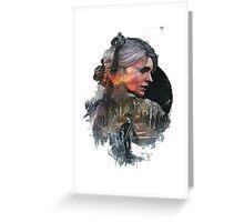 Ciri, Witcher 3 Greeting Card