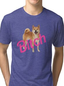 Bitch Shibe Tri-blend T-Shirt