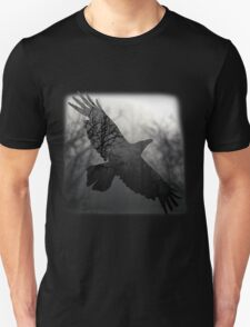 Into The Misty Forest Where A Crow Lives T-Shirt