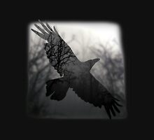 Into The Misty Forest Where A Crow Lives Unisex T-Shirt