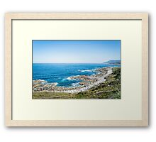 Cliffs Framed Print