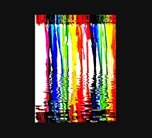"""Rainbow of Crayons """"Melting"""" in 120* F. Unisex T-Shirt"""