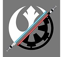 Star Wars - Rebel Alliance/Galactic Empire  Photographic Print