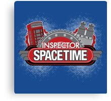 Inspector Spacetime Blorgon Edition Canvas Print