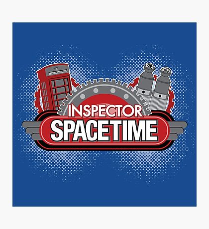 Inspector Spacetime Blorgon Edition Photographic Print