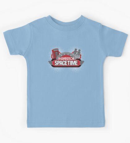Inspector Spacetime Blorgon Edition Kids Tee
