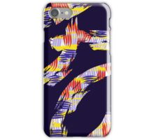 abstract brush iPhone Case/Skin