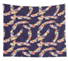 abstract brush Wall Tapestry