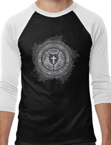 Luther Rose Christian Luther Seal Men's Baseball ¾ T-Shirt