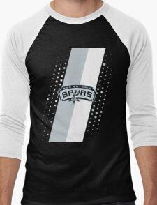 San Antonio Spurs Men's Baseball ¾ T-Shirt