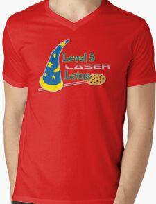 Level 5 Laser Lotus Mens V-Neck T-Shirt