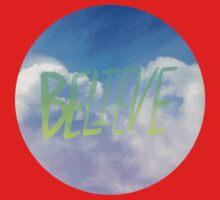 Believe One Piece - Short Sleeve