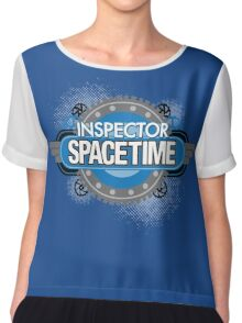 Inspector Spacetime Chiffon Top