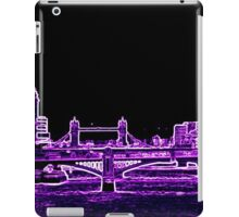St Pauls Cathedral in purple iPad Case/Skin