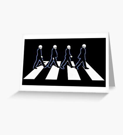 cantina band Greeting Card