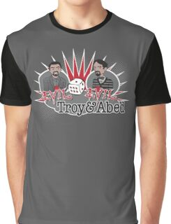 Evil Troy & Evil Abed Graphic T-Shirt
