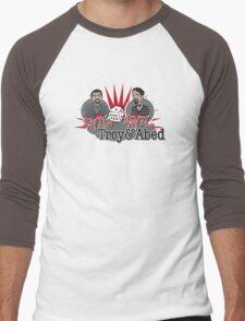 Evil Troy & Evil Abed Men's Baseball ¾ T-Shirt