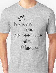 Lumineers 'Heavens Fool' Design  Unisex T-Shirt