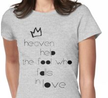 Lumineers 'Heavens Fool' Design  Womens Fitted T-Shirt