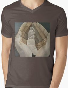 """Wellspring"" 12""x12"" acrylic painting Mens V-Neck T-Shirt"