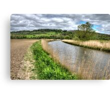 Royal Military Canal @ West Hythe, Kent Canvas Print