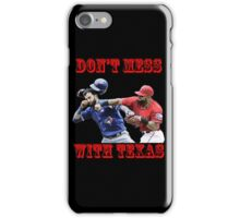 don't mess iPhone Case/Skin