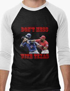 don't mess Men's Baseball ¾ T-Shirt