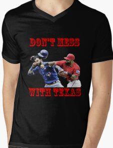 don't mess Mens V-Neck T-Shirt