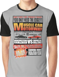 MuscleCar Motorway - Winchesters Vs Dukes Graphic T-Shirt