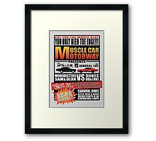 MuscleCar Motorway - Winchesters Vs Dukes Framed Print