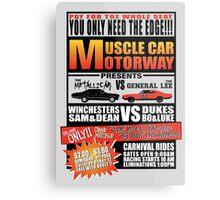 MuscleCar Motorway - Winchesters Vs Dukes Metal Print